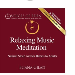 Red - Relaxing Music Meditation FRONT COVER (Custom)