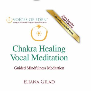 White - Chakra Healing - Vocal Meditaiton FRONT COVER (Custom)