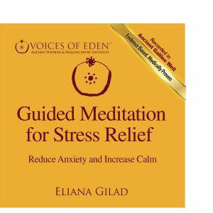Yellow - Guided Meditation for Stress Relief FRONT COVER (Custom)